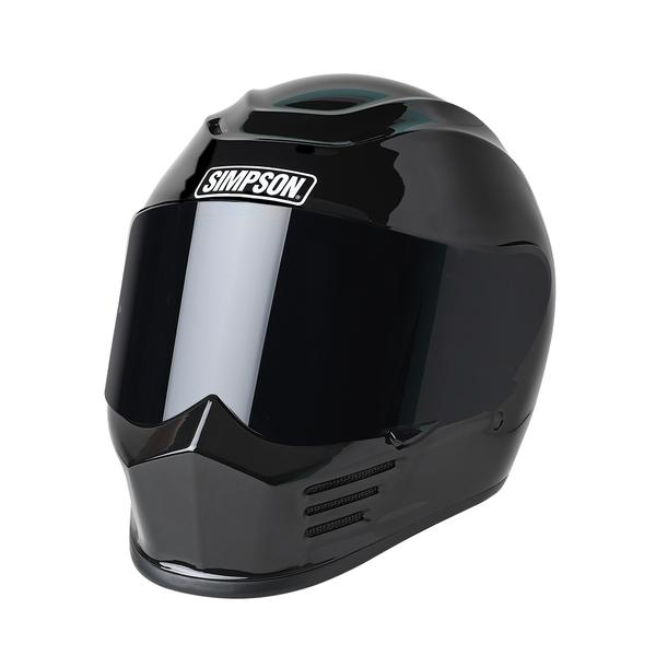Simpson OTW Shorty Motorcycle Helmet Shorty Open Face DOT Approved