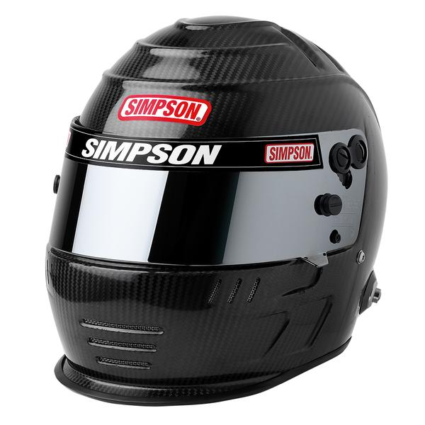 Simpson SA2020 Carbon Speedway Shark Racing Helmet