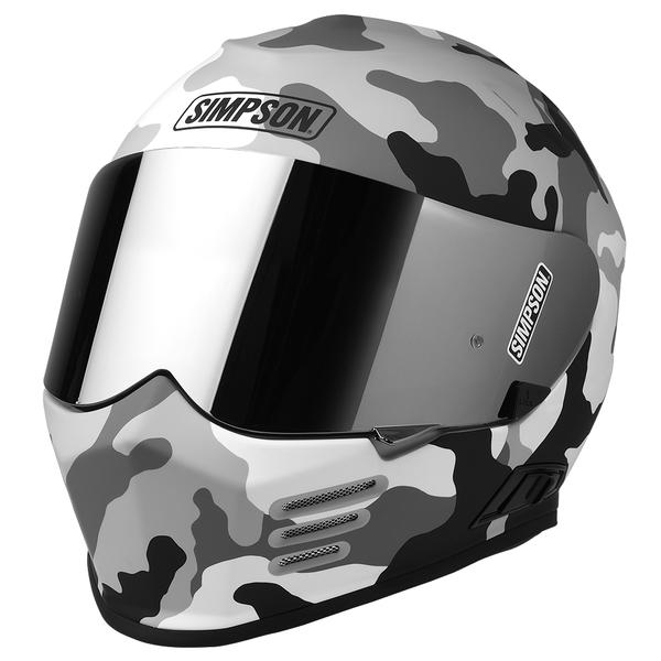 Simpson Ghost Bandit Foxtrot Tango Whiskey Motorcycle Helmet